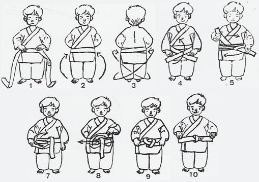 Sous le hakama, le obi est plus large assurant un meilleur maintien du  hakama et du sabre lorsqu il est à la ceinture. c1f0ce4d915