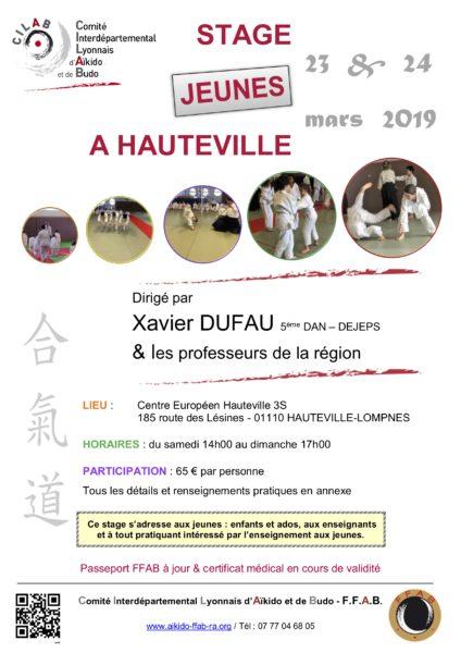 Xavier Dufau @ Hauteville-Lompnes | Auvergne-Rhône-Alpes | France