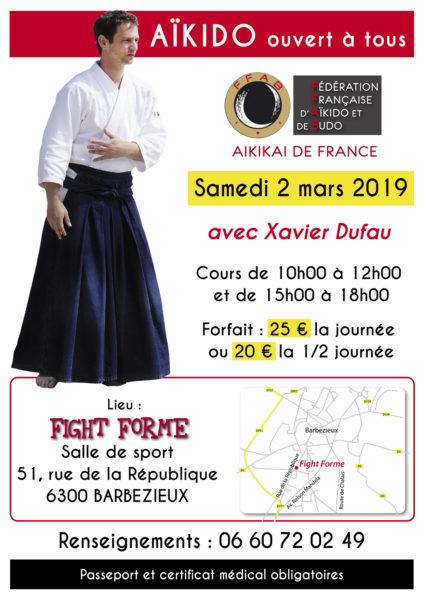 Xavier Dufau @ Barbezieux-Saint-Hilaire | Nouvelle-Aquitaine | France