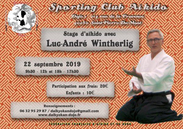 Luc-André Wintherlig @ Dojo 1